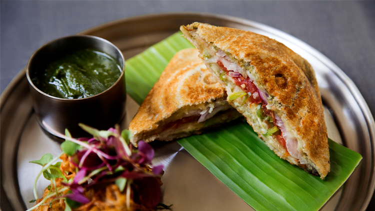 One of our fave Indian restaurants just launched a four-course toastie menu