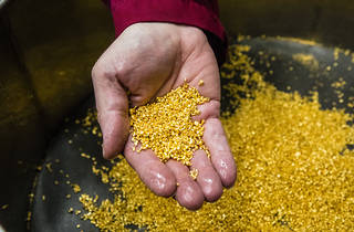 See inside London's secret gold bullion factory