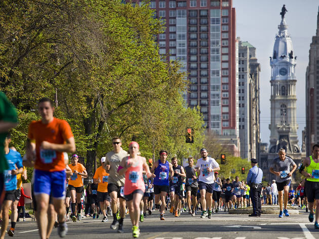 Broad Street Run is the largest 10-mile run in the country.
