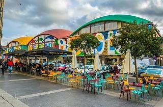La Latina. Mercado de la Cebada
