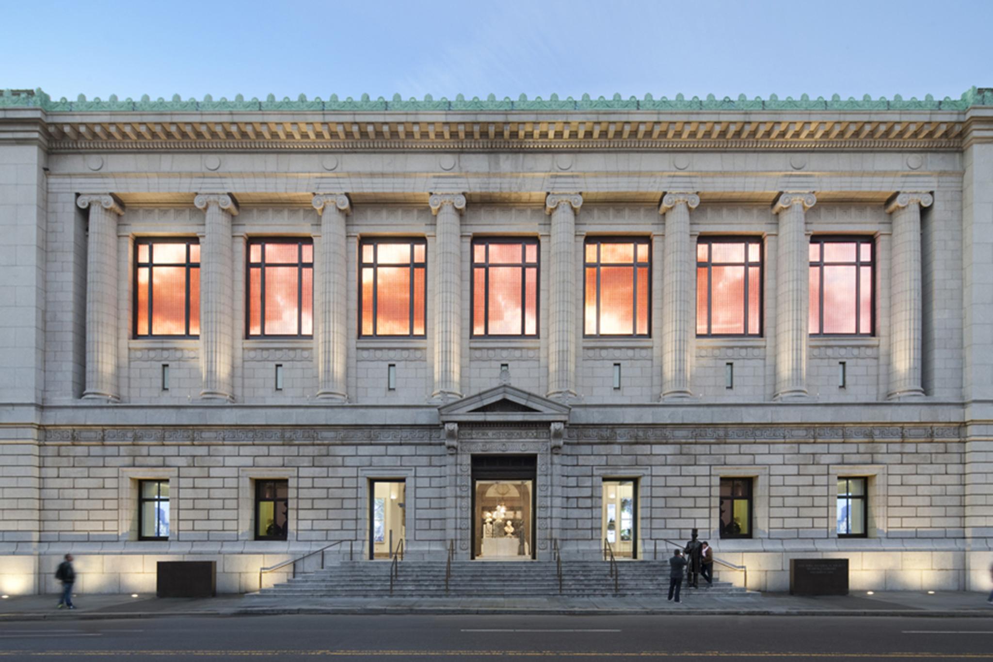 Witness the New-York Historical Society's transfiguration