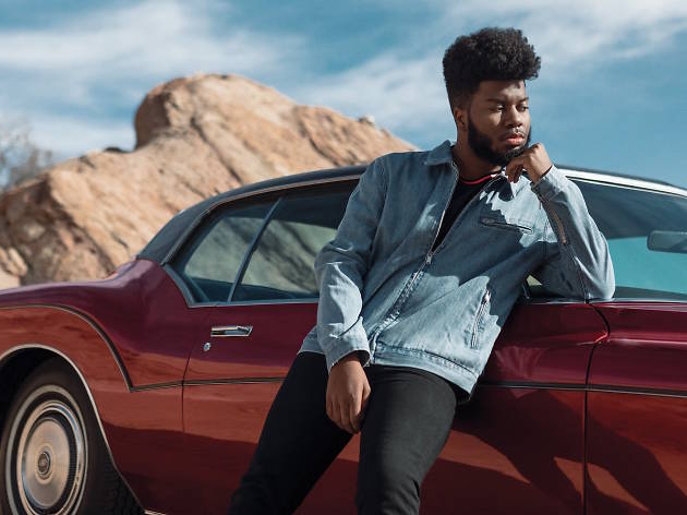 Khalid plays Festival Pier.