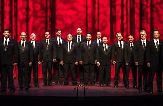 This is the Brotherly Love contingent of the Philadelphia Gay Men's Chorus.