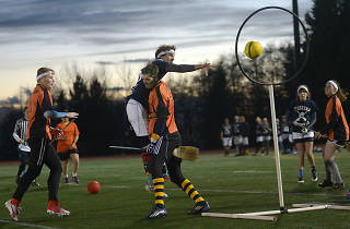 Here's what it's like to play real-life Quidditch in NYC