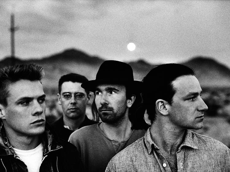 """""""Red Hill Mining Town"""" The Joshua Tree, 1987"""