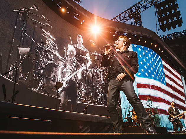 U2 is playing the Apollo Theater next month