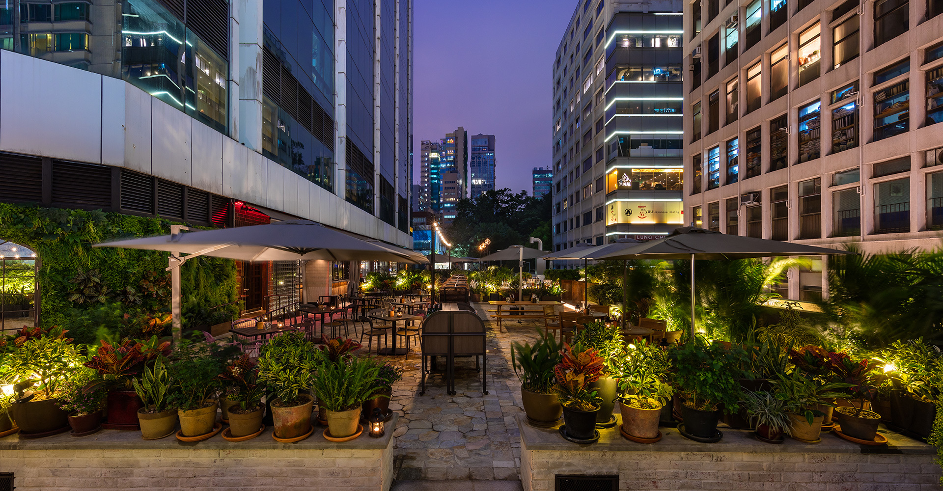 The best restaurants in Hong Kong with outdoor seating