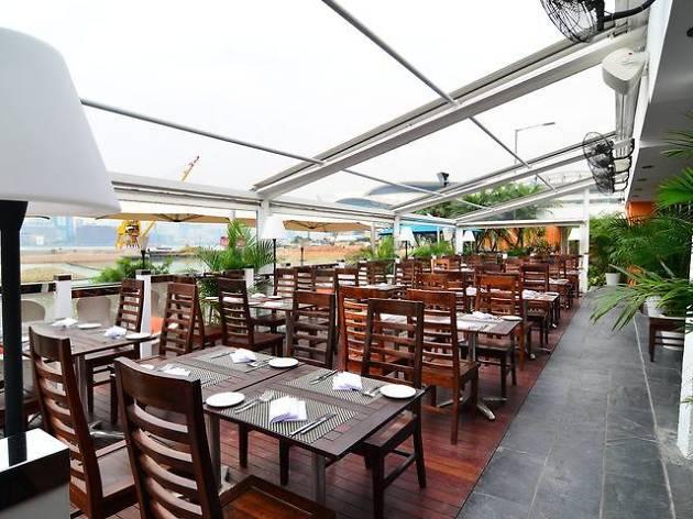 Quayside terrace