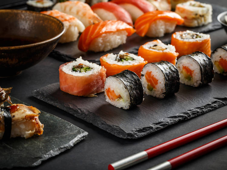 Hand-Rolled Sushi at CocuSocial
