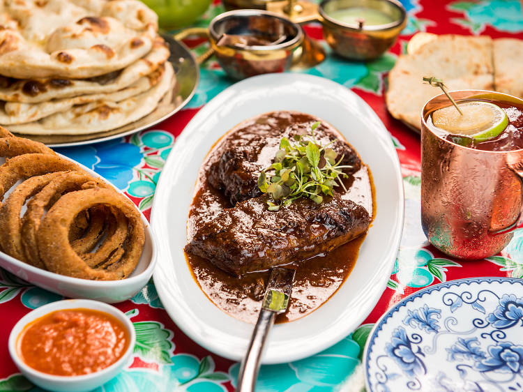 Eat some Indian grub at The Bombay Bread Bar