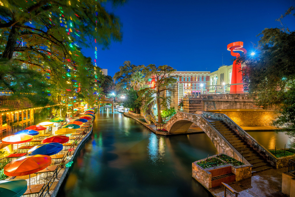 San Antonio and its places.. Image