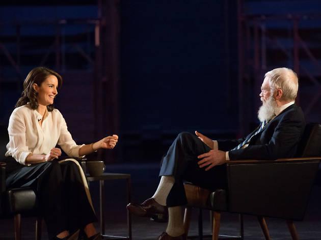No necesita presentación con David Letterman: Tina Fey