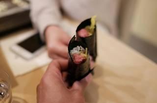 Toro handrolls at Kenzo