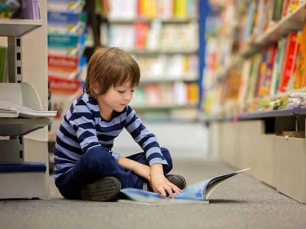 Feria de libros misteriosos para niños