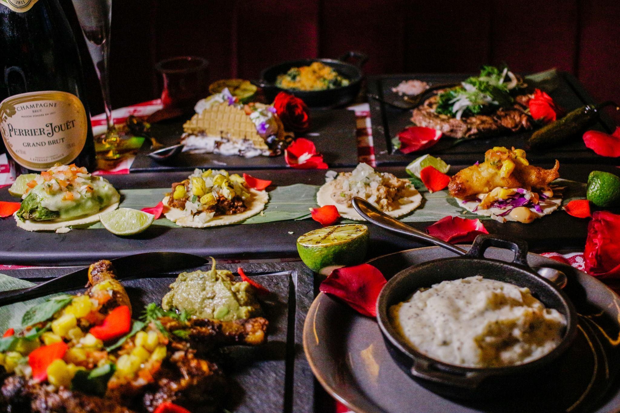 Los Sotano food shot