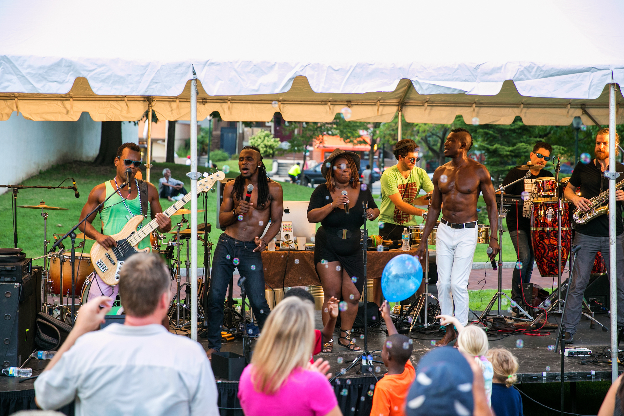 The 40th Street Summer Series brings free outdoor concerts to a park in West Philly.