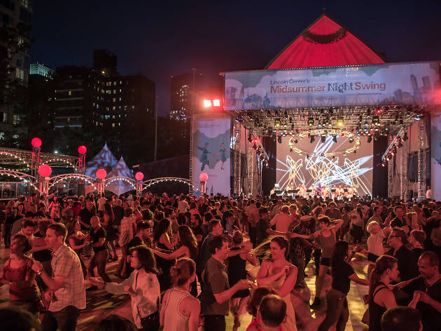 Here's the lineup for NYC's biggest outdoor dance party of the summer