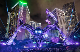 Escenario Arcadia Spider Resistance Ultra Music Festival