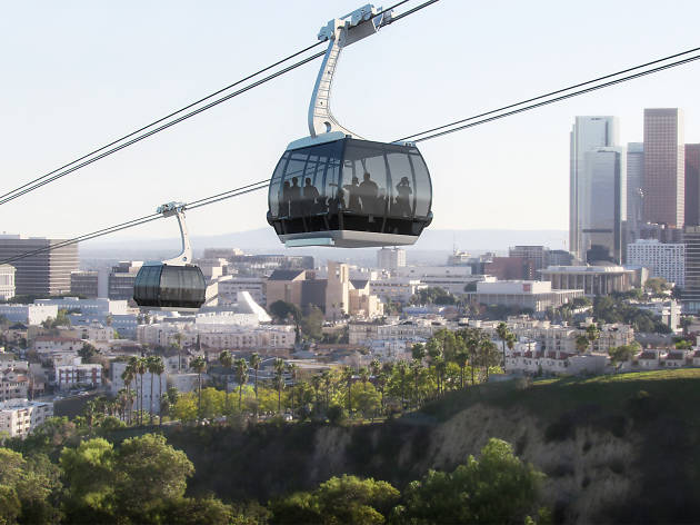 You might be able to take a gondola to Dodger Stadium soon