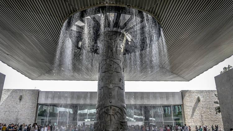 El Paraguas en el Museo Nacional de Antropología