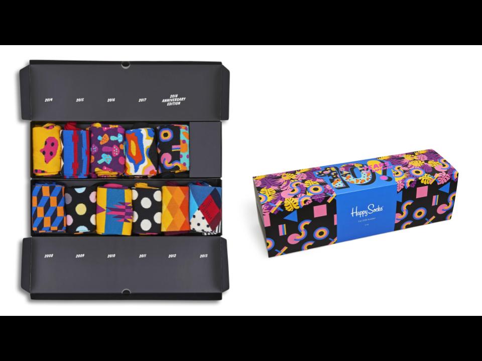 過去のレア柄を手に入れるチャンス、「Happy Socks」が設立10周年の記念ボックスを発売