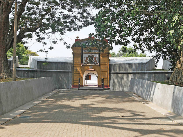 The entrance to the Star Fort in Matara