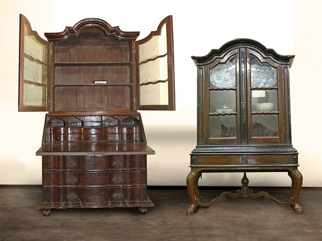 Iconic Dutch-era cabinets