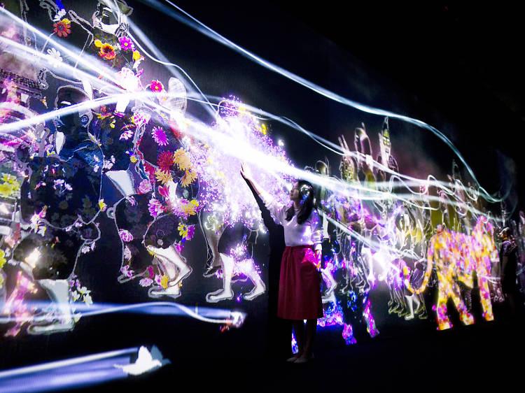 Mori Building Digital Art Museum Epson teamLab Borderless