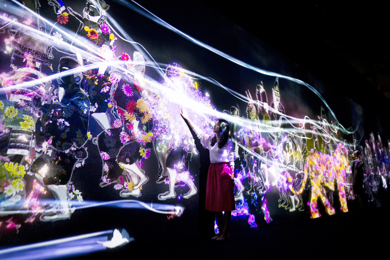 Mori Building Digital Art Museum Epson teamLab Borderless