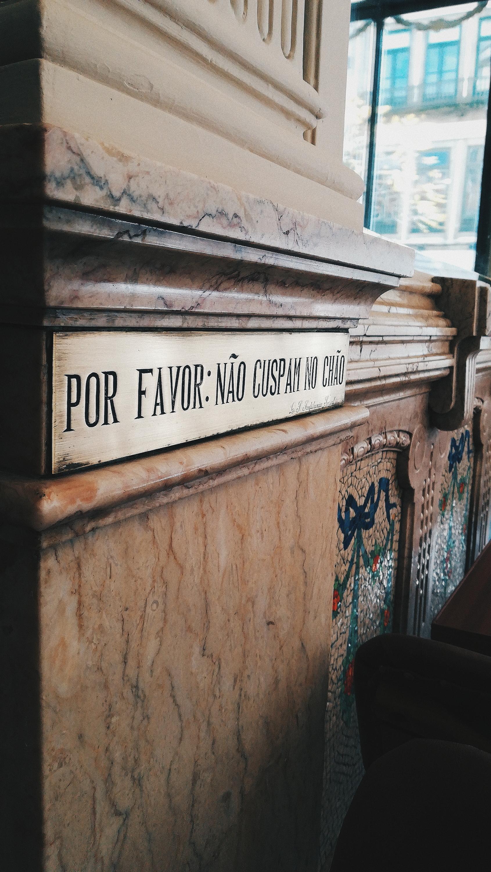 Pestan Porto - A Brasileira