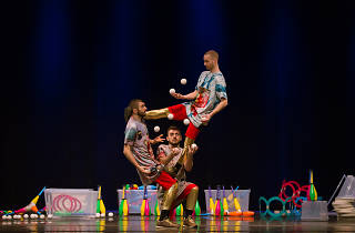 Catch juggling feats at Water on Mars during PIFA 2018.