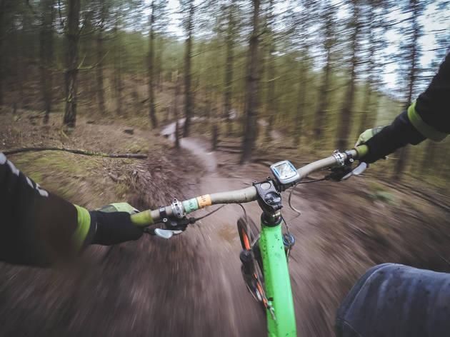 Trailer de Bicicleta de Montanha