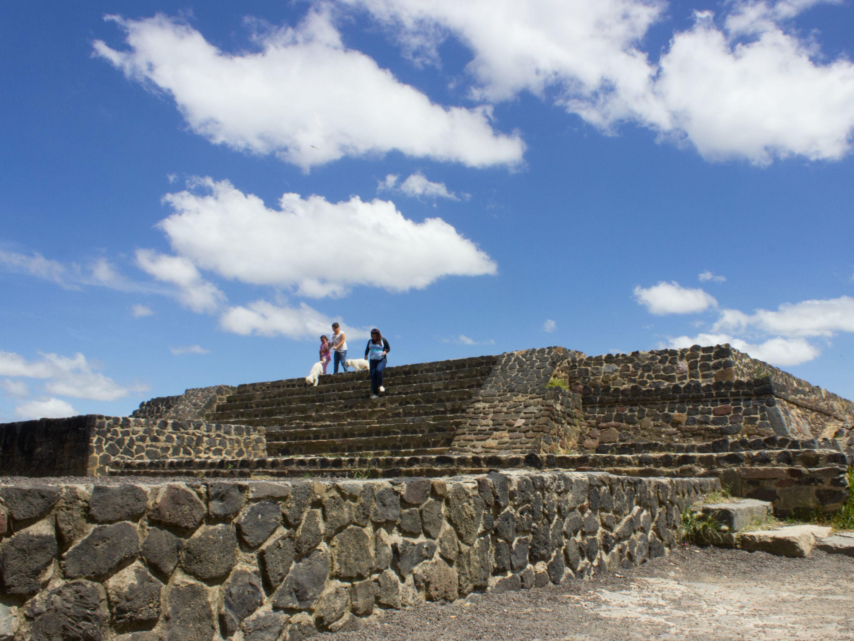 Pirámide en el Parque Nacional Cerro de la Estrella