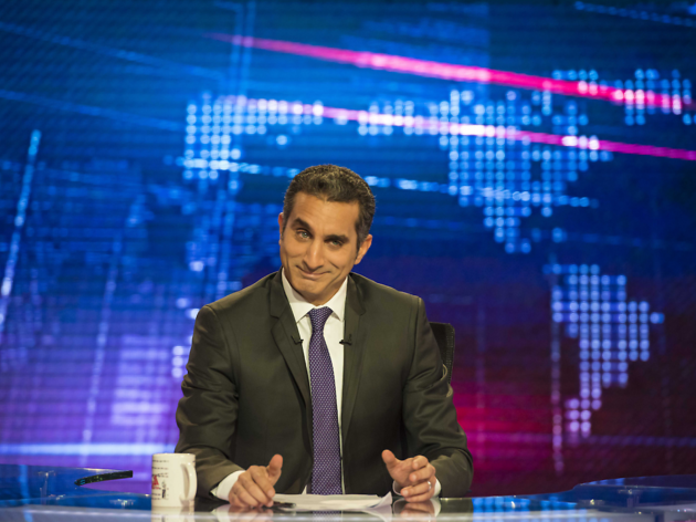 Bassem Youssef performs as part of PIFA.