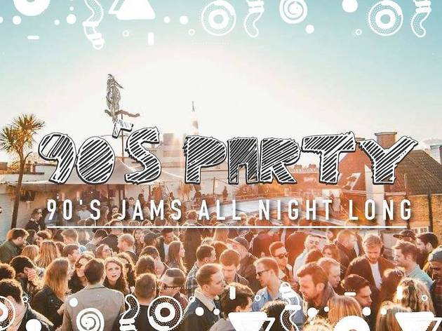 90's Party - Brixton Club & Rooftop Party