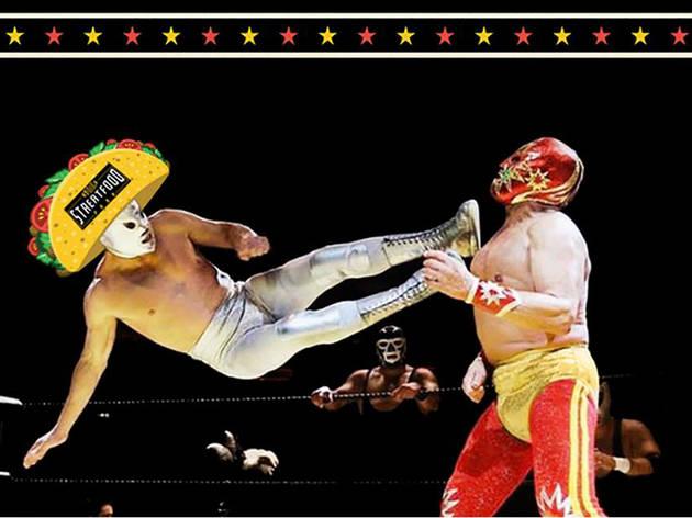 Lucha Libre Taco Con