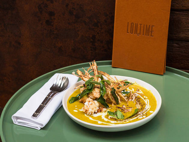 Vegetarian green curry at Longtime, $27