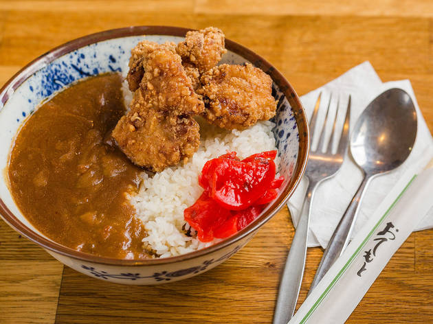 Chicken karaage curry at Taro's Ramen, $16.80