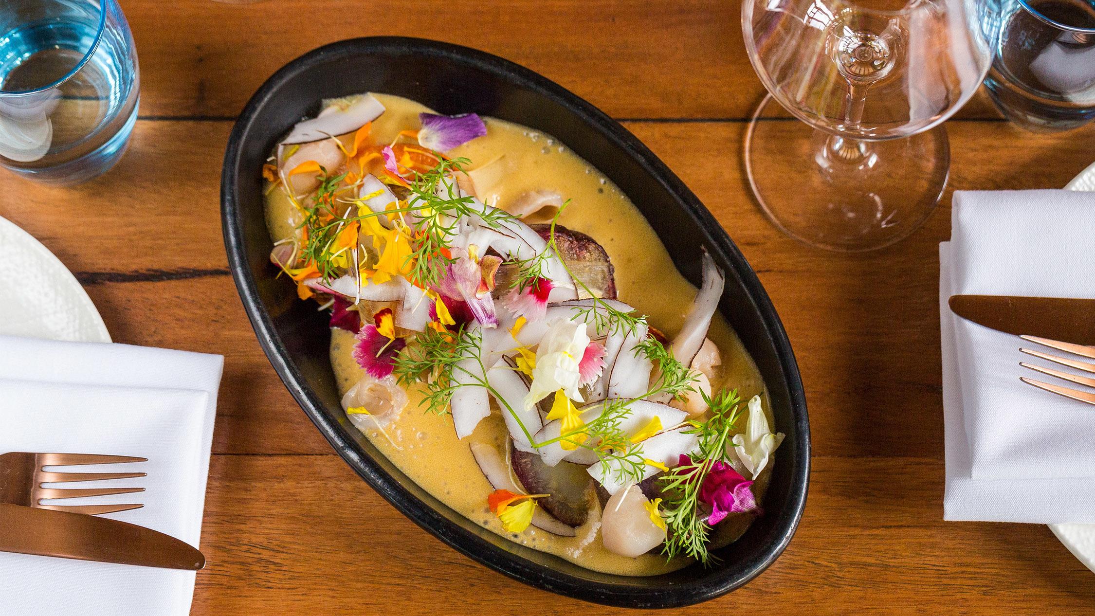 Hawaiian curry at Detour, $26