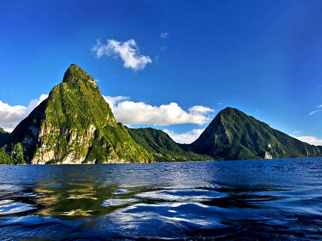 St Lucia TTD Gros Piton