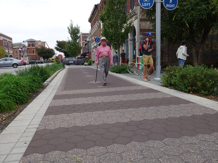 The Indianapolis Cultural Trail