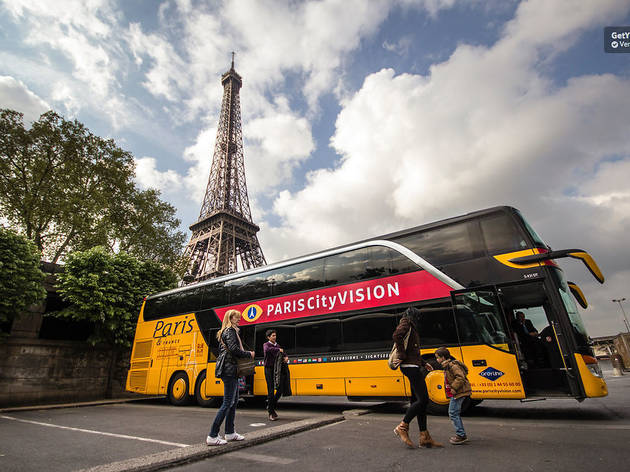 Best Paris bus tours