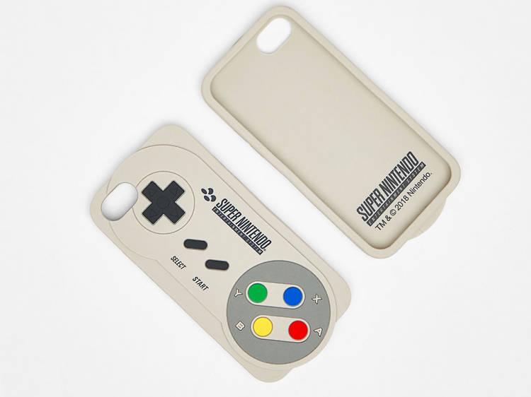 Carcasa de Super Nintendo