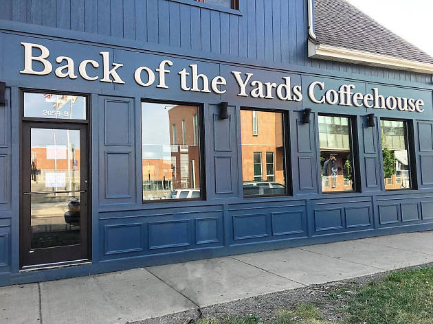 Back Of The Yards Coffee Shop Menu