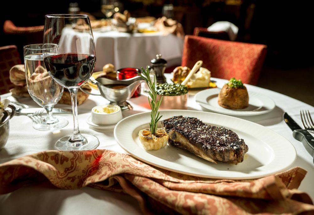 Steak at Strip House