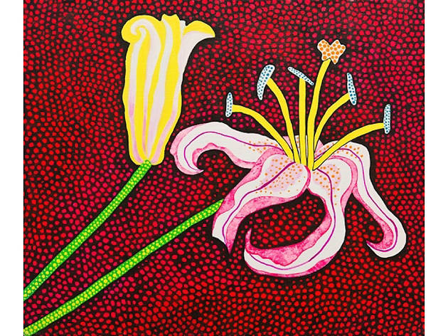 Ready to Blossom in the MorningYayoi Kusama, 1989
