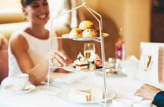 High tea at the Windsor Hotel