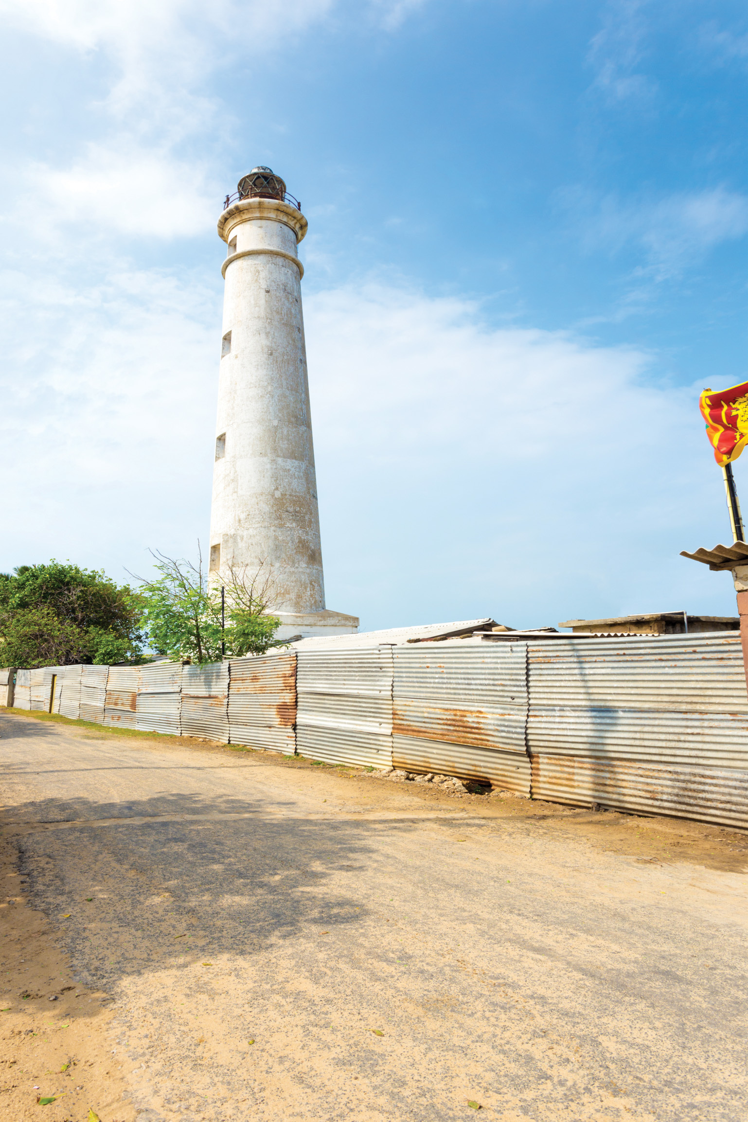 Stand upon the Northern-most edge of Sri Lanka – Point Pedro and visit the Point Pedro light-house.