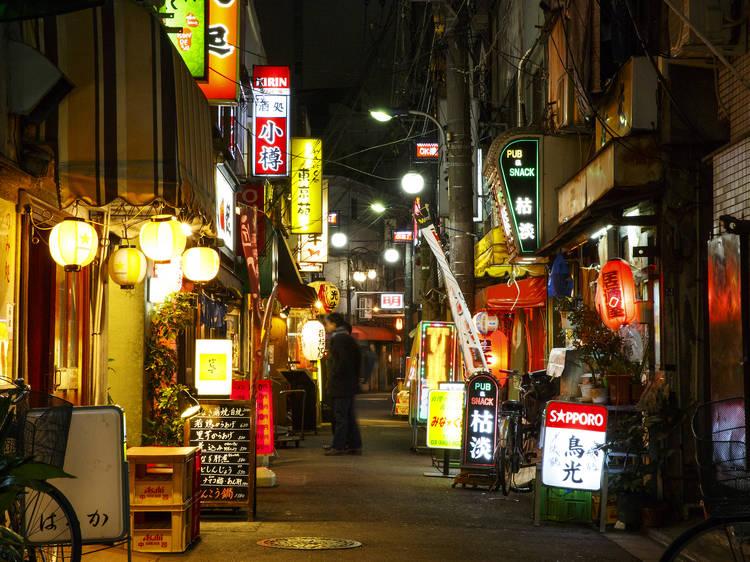 Best bars and restaurants at OK Yokocho in Akabane