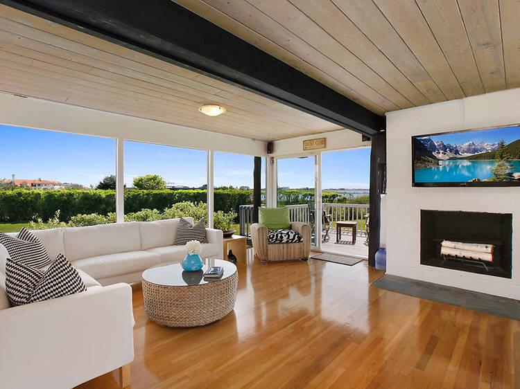 Magnificent Waterfront Home in Bridgehampton